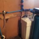 Vandens minkštinimas, nitratų šalinimas; Našumas: 2,8 m3/h; Vieta: Riešė.